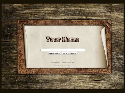 Antique Wood Theme