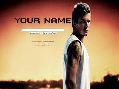 David Beckham Theme