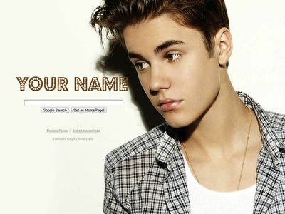 Justin Bieber Theme
