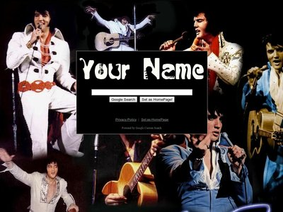 Elvis Collage Theme