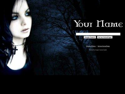 Gothic Girl Theme