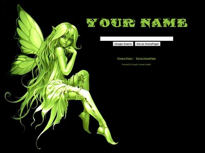 Green Fairy Theme
