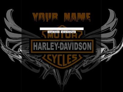 Harley Davidson Theme