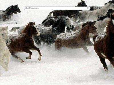 Snow Horses Theme