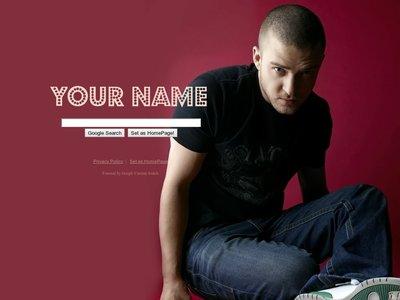 Justin Timberlake Theme