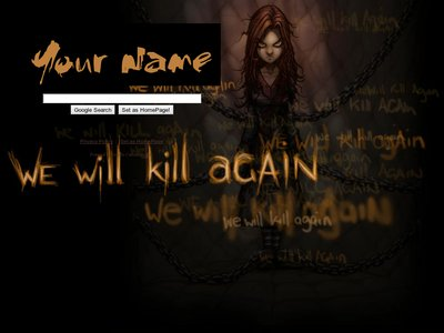 Kill Again Theme
