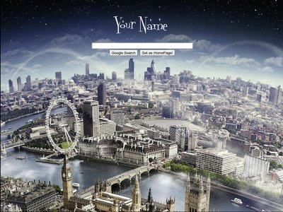 London Panorama Theme
