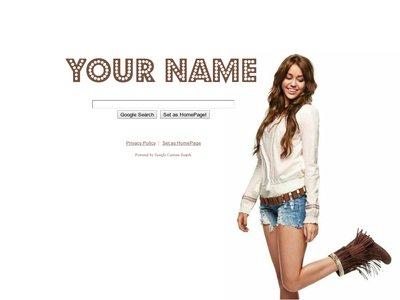 Miley Cyrus Theme