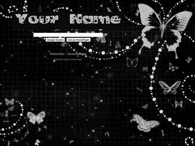Night Butterfly Theme