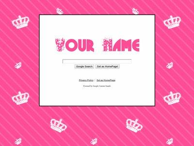 Pink Crown Theme