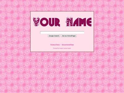 Pink Glitter Theme