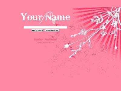 Pink Grunge Theme
