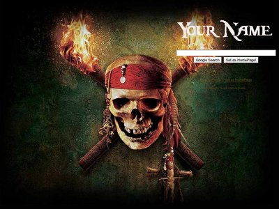 Pirates of caribbean Theme