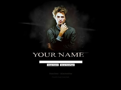 Robert Pattinson Theme