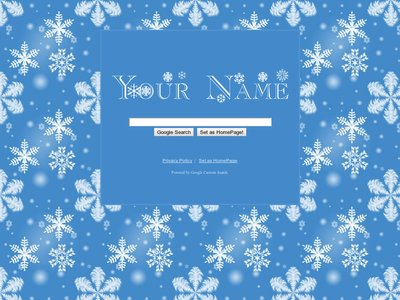 Snow Flakes Theme