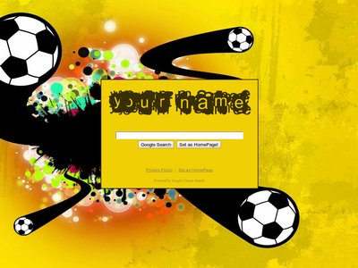 Soccer Splash Theme