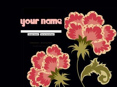 Vintage Flower Theme